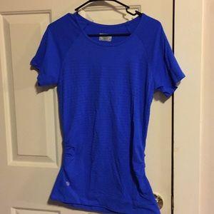 Athleta vibrant blue scrunch side W/O top size XL